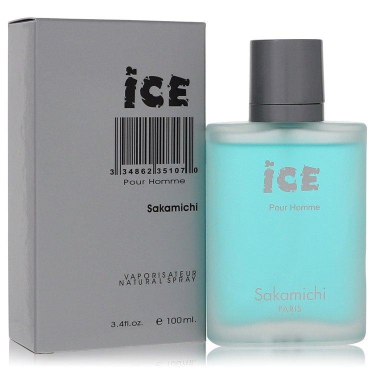 Ice by Sakamichi for Men Eau De Parfum Spray 3.4 oz