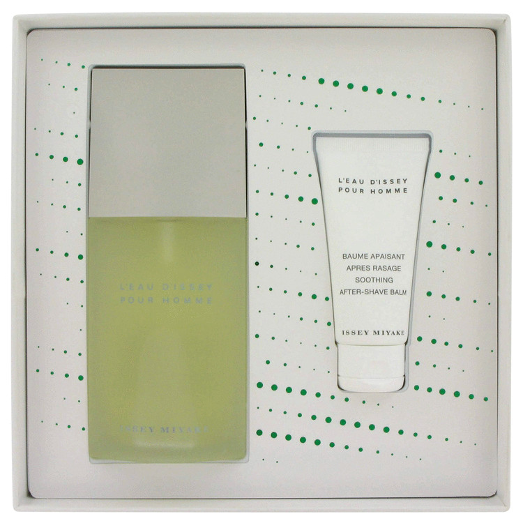 L'eau D'issey (issey Miyake) for Men, Gift Set (4.2 oz EDT Spray + 1.6 oz After Shave Balm)