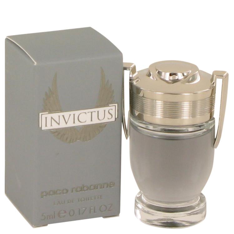Invictus by Paco Rabanne –  Mini EDT .17 oz 5 ml for Men
