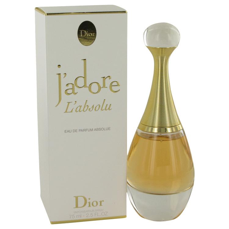 Jadore L'absolu Perfume by Christian Dior 2.5 oz EDP Spay for Women Spray