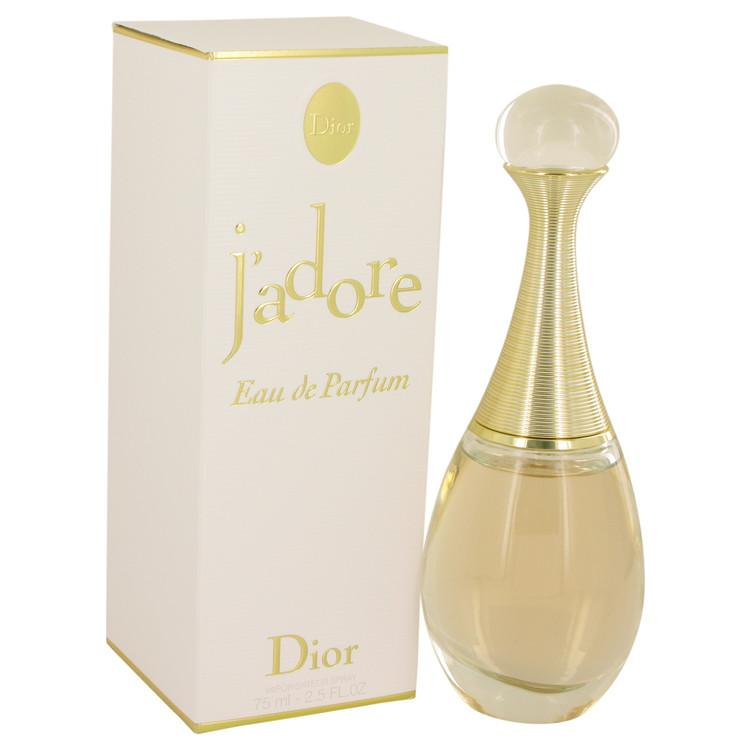 Jadore Perfume by Christian Dior 75 ml Eau De Parfum Spray for Women
