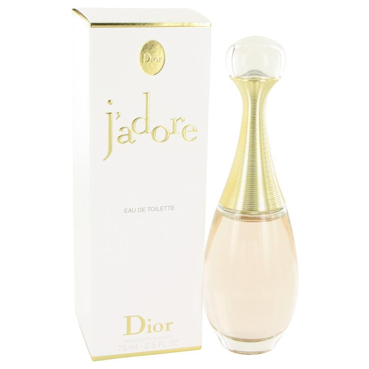 Jadore Perfume by Christian Dior 75 ml Eau De Toilette Spray for Women
