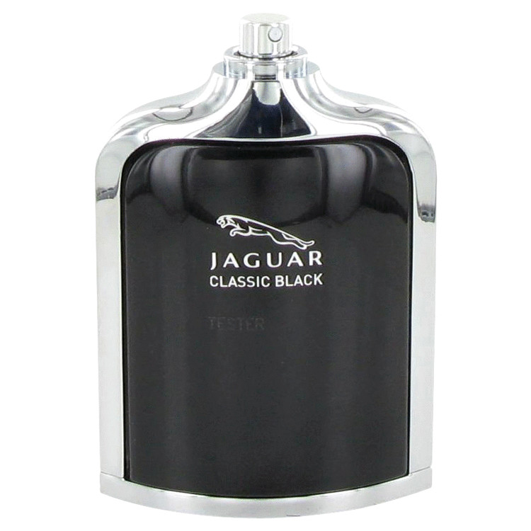 Jaguar Classic Black by Jaguar for Men Eau De Toilette Spray (Tester) 3.4 oz