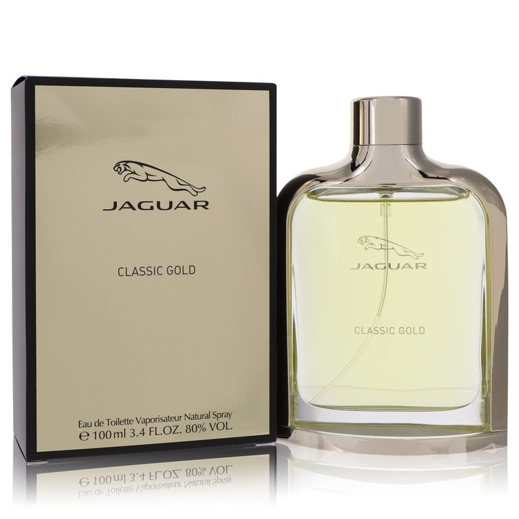 Jaguar Classic Gold Cologne by Jaguar 100 ml EDT Spay for Men