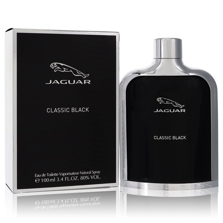 Jaguar Classic Black Cologne by Jaguar 100 ml EDT Spay for Men