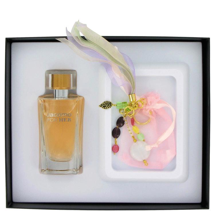 Jacomo De Jacomo Gift Set -- Gift Set - 3.4 oz Eau De Toilette Spray + Feminine Charm for Women