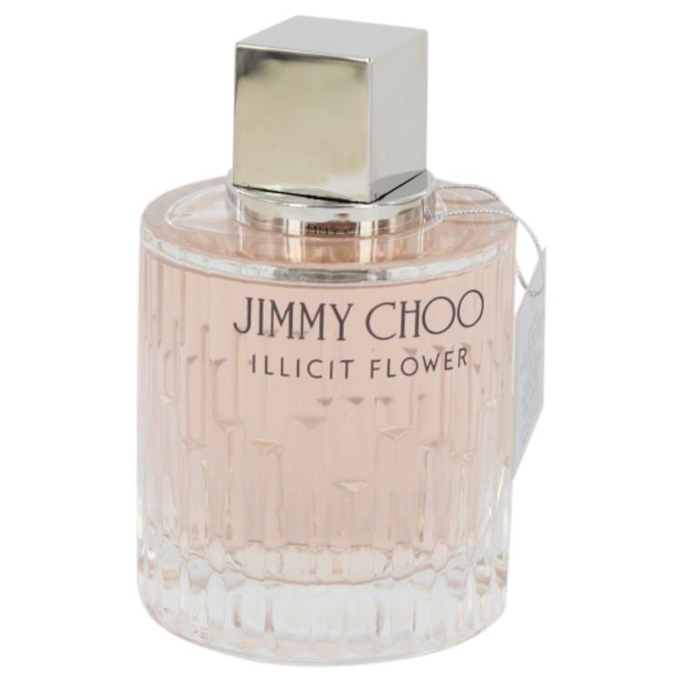 Jimmy Choo Illicit Flower Perfume 3.3 oz EDT Spray(Tester) for Women
