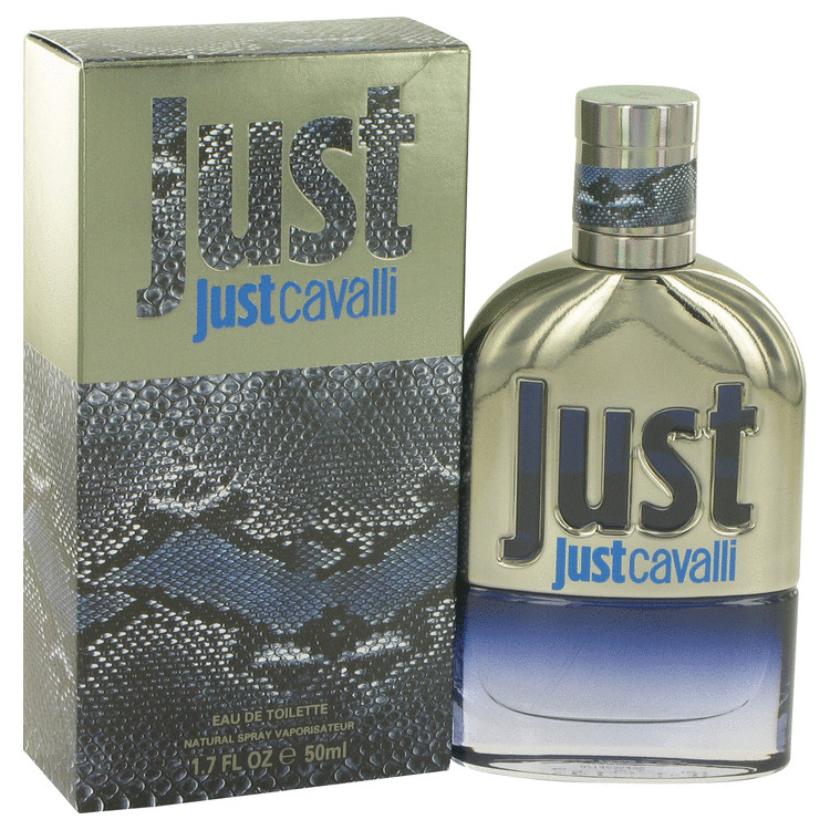 Just Cavalli New Cologne by Roberto Cavalli 50 ml EDT Spay for Men