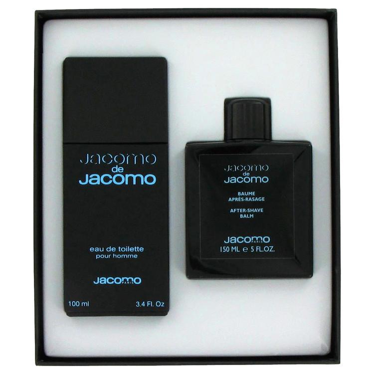 Jacomo De Jacomo Gift Set -- Gift Set - 3.4 oz Eau De Toilette Spray + 5 oz After Shave Balm for Men