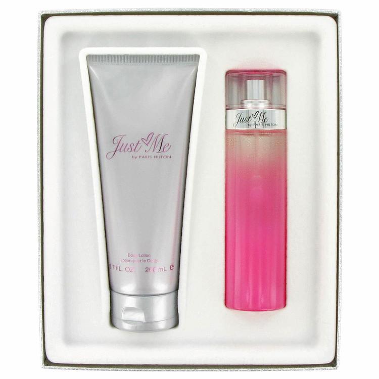 Just Me Paris Hilton Gift Set -- Gift Set - 3.3 oz Eau De Parfum Spray + 6.8 oz Body Lotion for Women