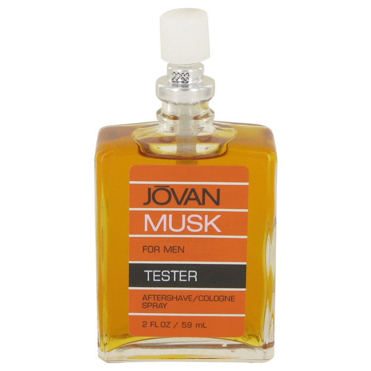 JOVAN MUSK by Jovan for Men After Shave/Cologne Spray (Tester) 2 oz
