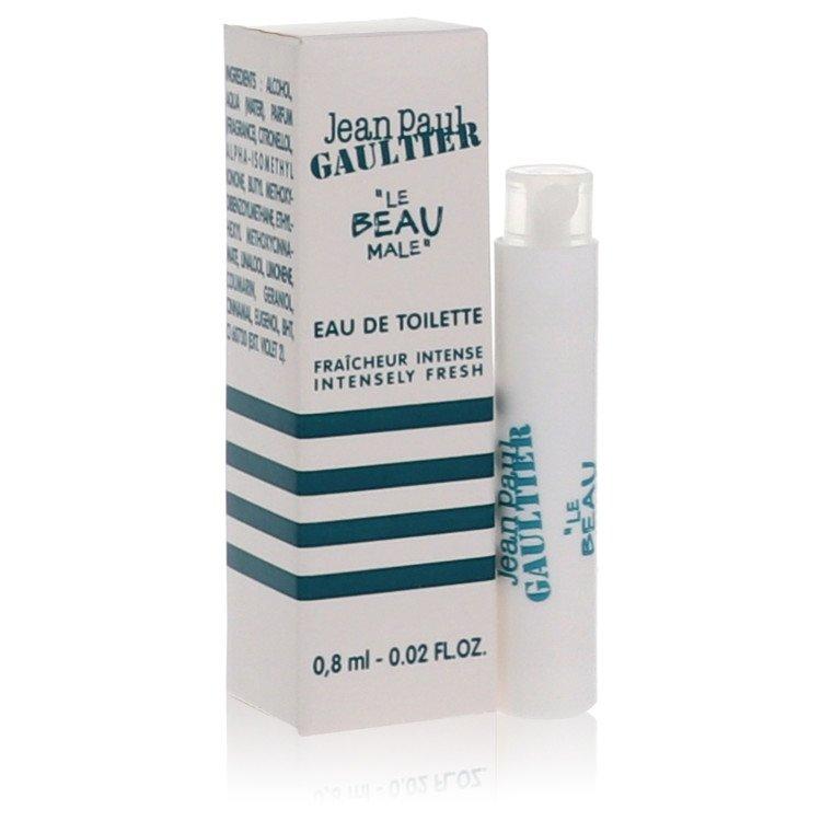 Jean Paul Gaultier Le Beau by Jean Paul Gaultier for Men Vial (sample Fraicheur Intense) .02 oz