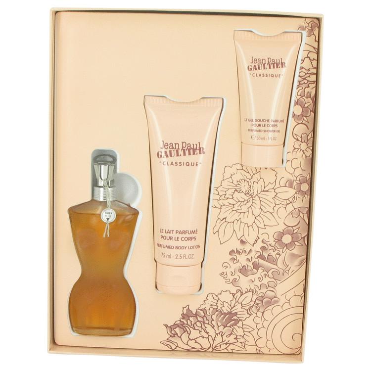 Jean Paul Gaultier Gift Set -- Gift Set - 1.6 oz Eau De Toilette Spray + 2.5 oz Body Lotion + 1 oz Shower Gel for Women