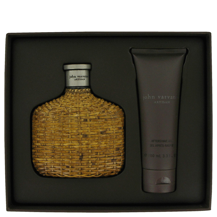 John Varvatos Artisan Gift Set -- Gift Set - 4.2 oz Eau De Toilette Spray + 3.3 oz After Shave Gel for Men