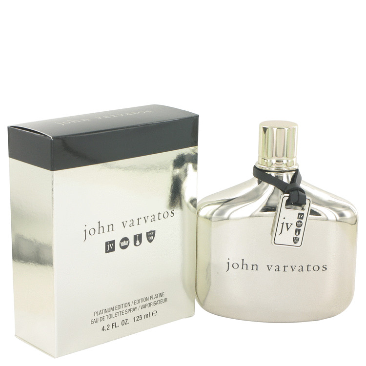 John Varvatos Platinum Cologne 125 ml EDT Spay for Men