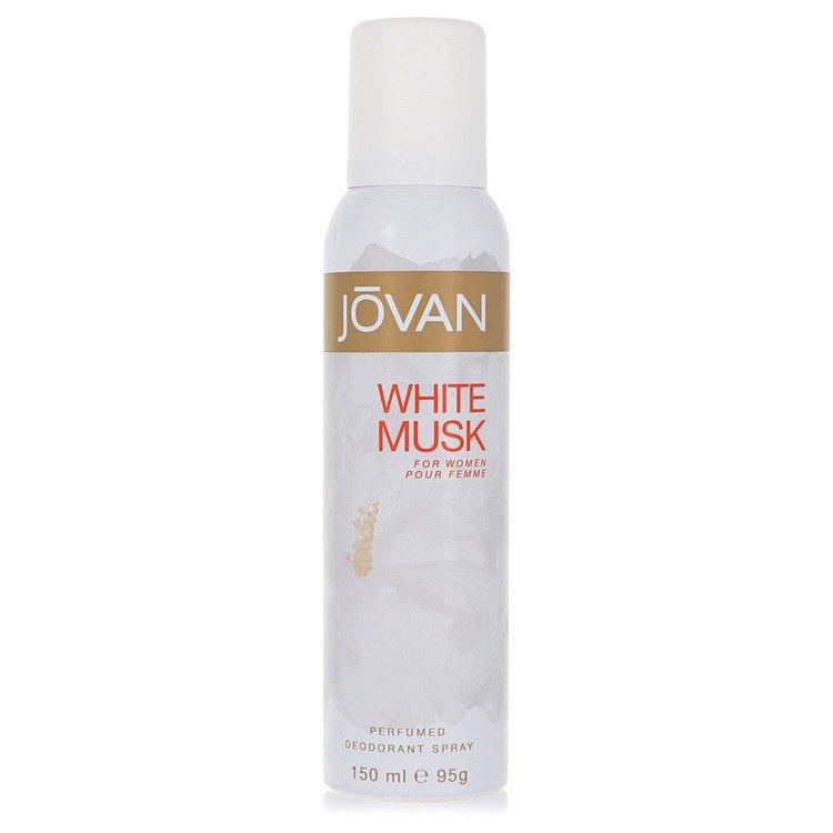JOVAN WHITE MUSK by Jovan for Women Deodorant Spray 5 oz
