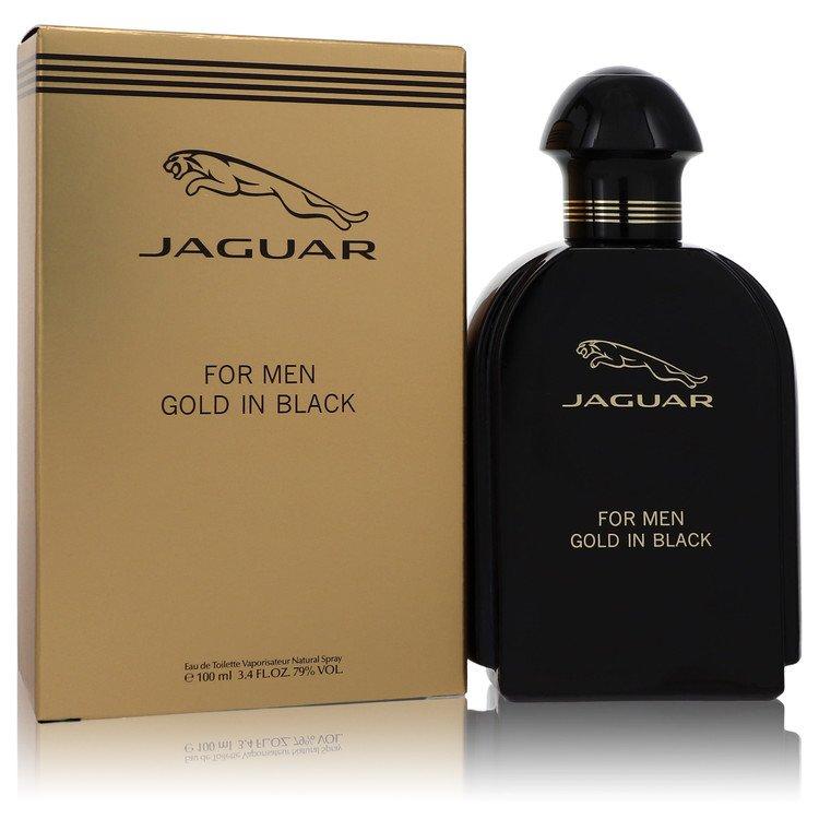 Jaguar Gold In Black by Jaguar –  Eau De Toilette Spray 3.4 oz 100 ml for Men