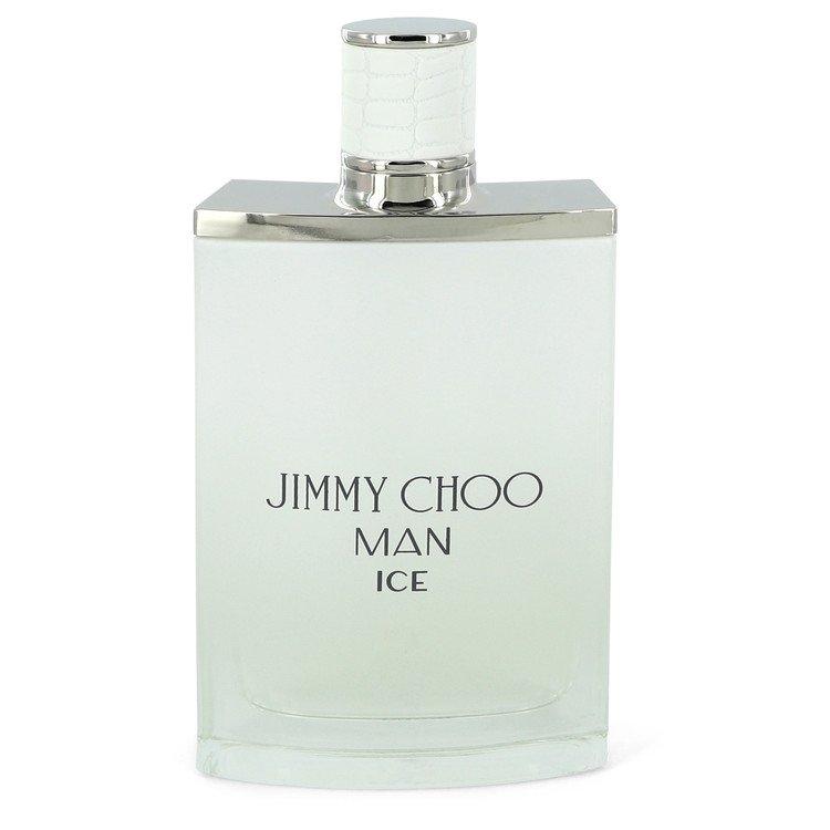 Jimmy Choo Ice by Jimmy Choo Men's Eau De Toilette Spray (unboxed) 3.4 oz