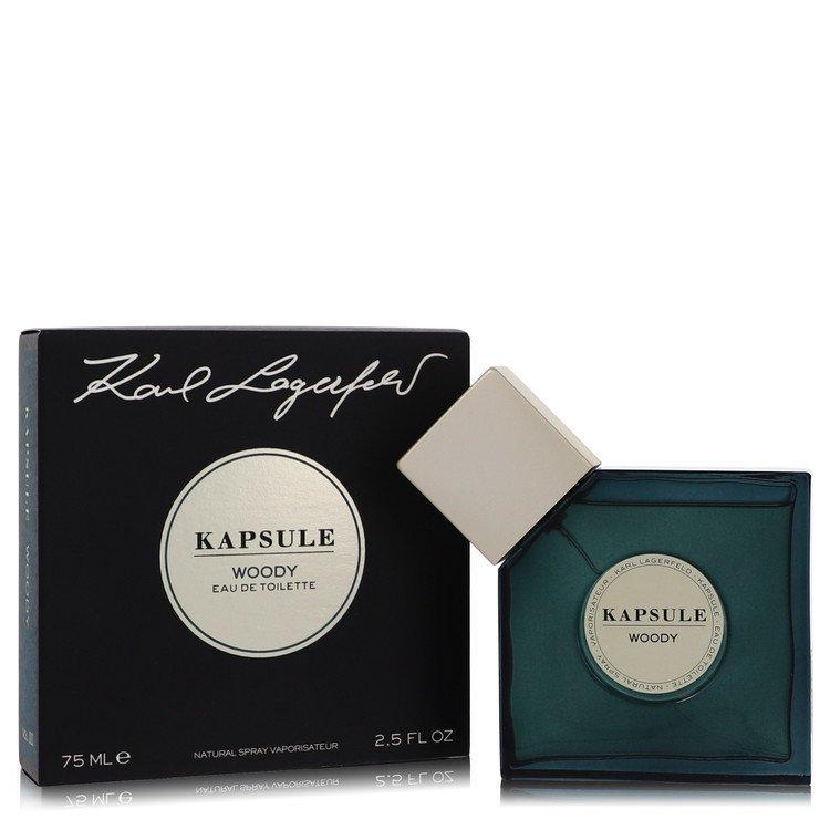 Kapsule Woody Perfume by Karl Lagerfeld 75 ml EDT Spay for Women