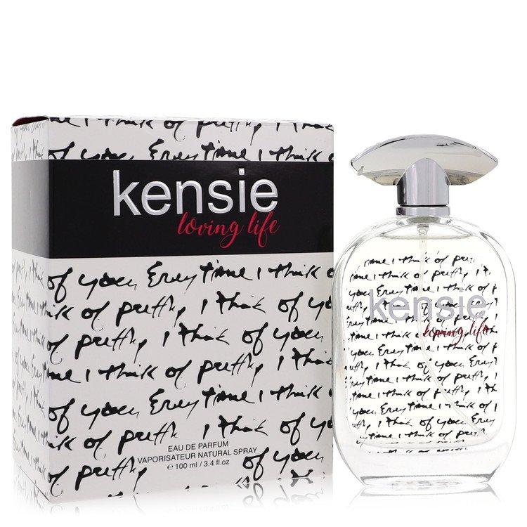 Kensie Loving Life by Kensie – Eau De Parfum Spray 3.4 oz (100 ml) for Women