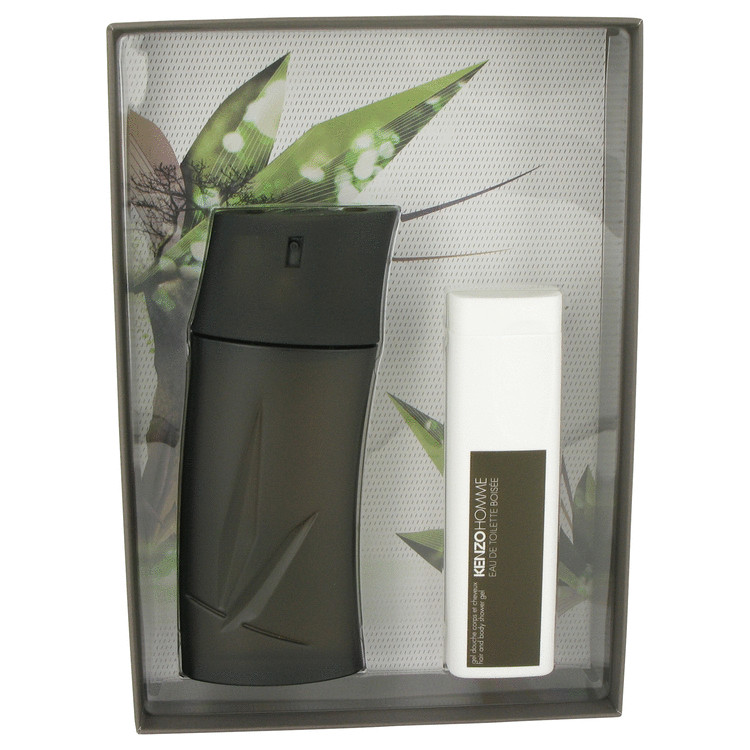 Kenzo Homme Boisee (woody) Gift Set -- Gift Set - 3.4 oz Eau De Toilette Spray + 3.4 oz Shower Gel for Men