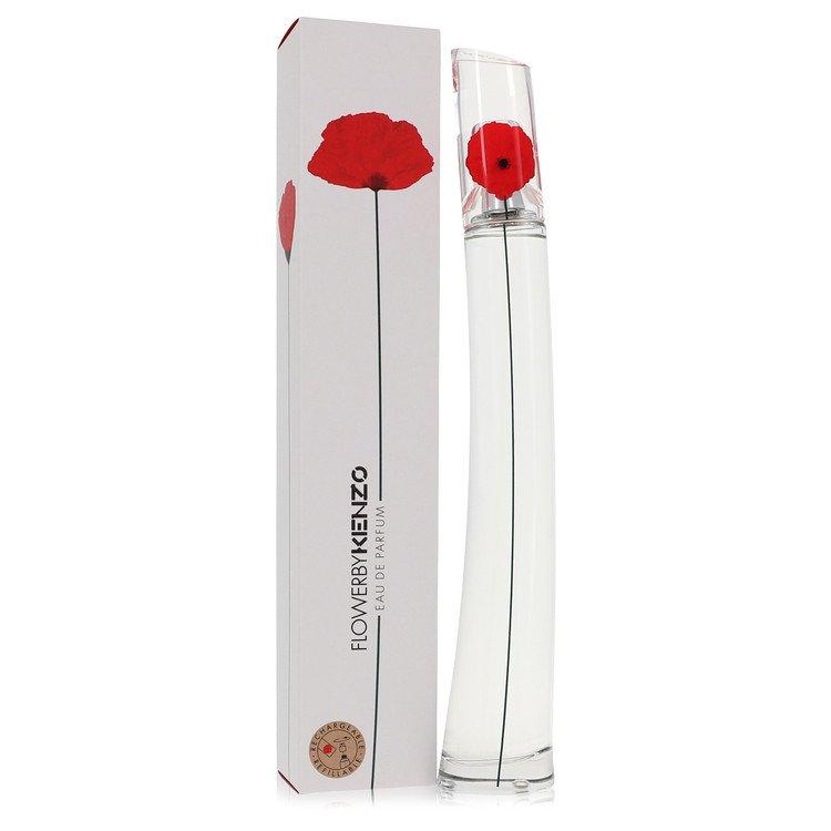 Kenzo Flower Perfume 100 ml Eau De Parfum Spray Refillable for Women