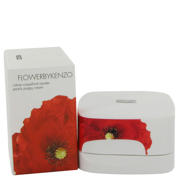 Kenzo Flower Body Cream by Kenzo 5 oz Pearly Poppy Cream for Women