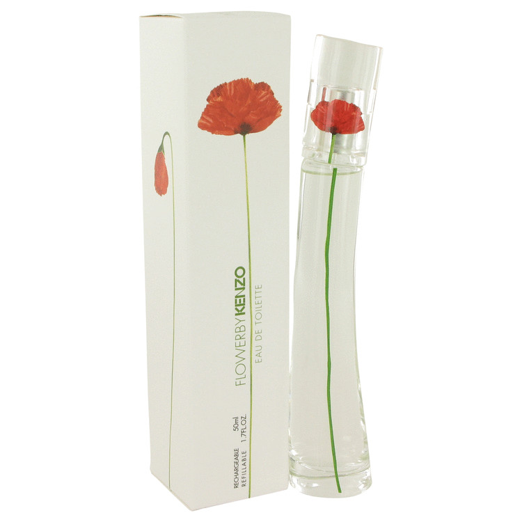 Kenzo Flower by Kenzo Women's Eau De Toilette Spray Refillable 1.7 oz