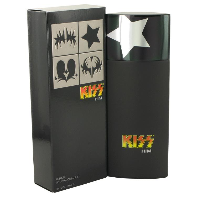 Kiss Him by Kiss for Men Eau De Toilette Spray 3.4 oz