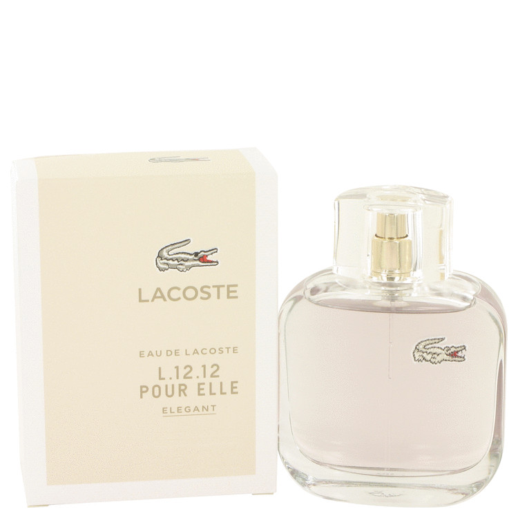 Lacoste Eau De Lacoste L.12.12 Elegant Perfume 90 ml EDT Spay for Women