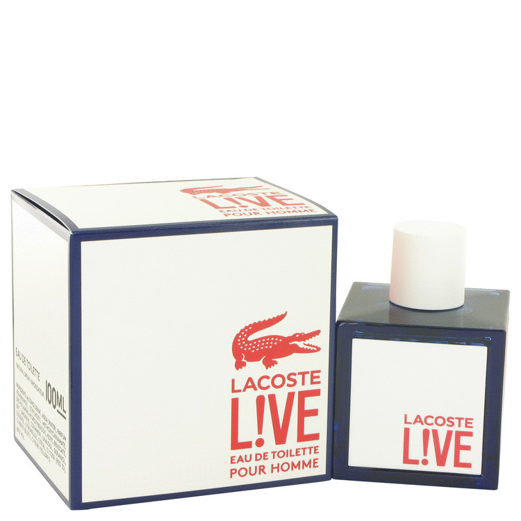 Lacoste Live Cologne by Lacoste 100 ml Eau De Toilette Spray for Men