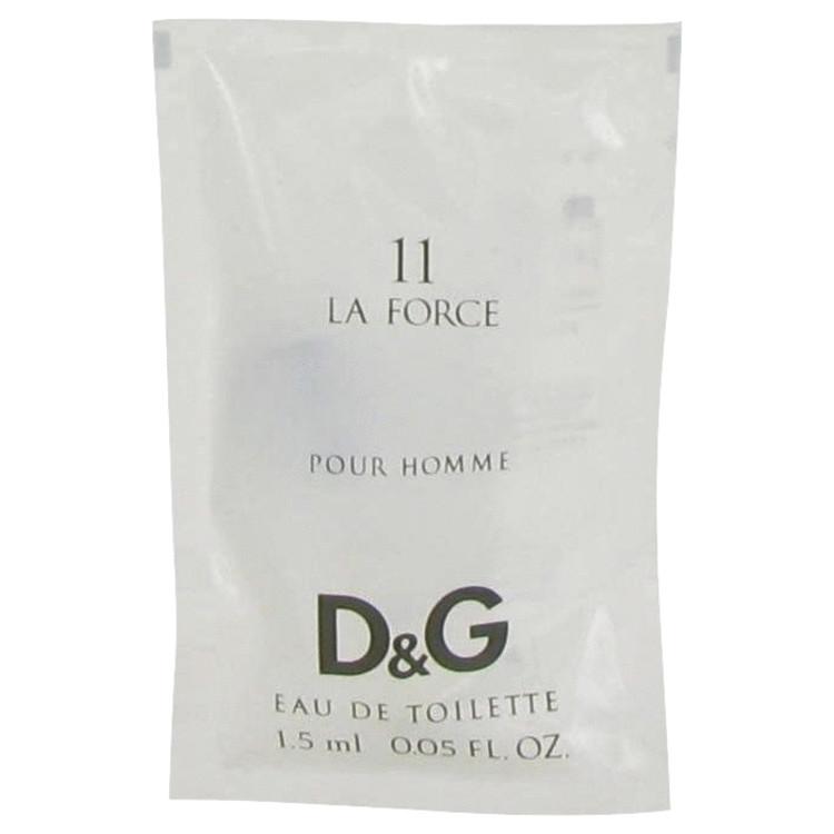 La Force 11 by Dolce & Gabbana for Men Vial (sample) .05 oz