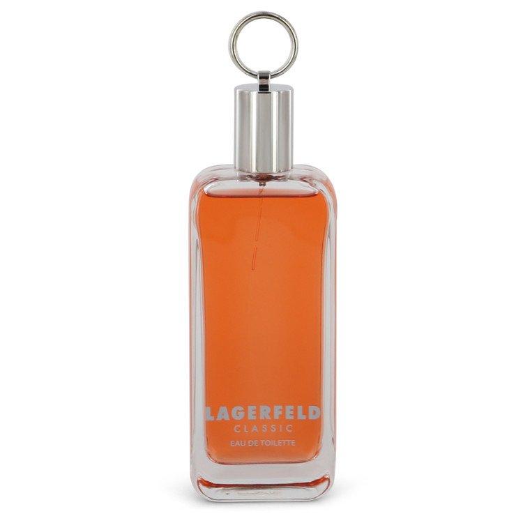 Lagerfeld Cologne 125 ml Cologne / Eau De Toilette Spray (Tester) for Men
