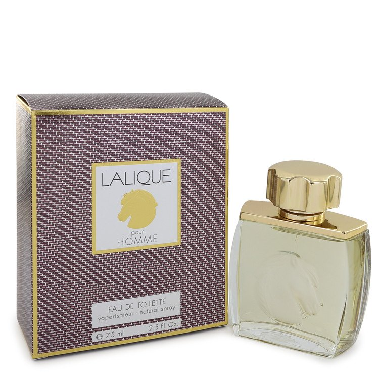 Lalique Cologne 75 ml Eau De Toilette Spray (Horse Head) for Men