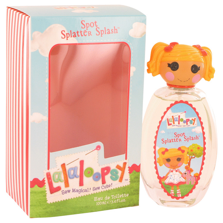 Lalaloopsy by Marmol & Son for Women Eau De Toilette Spray (Spot Splatter Splash) 3.4 oz