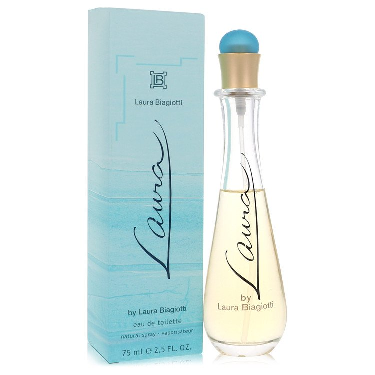 Laura Perfume by Laura Biagiotti 75 ml Eau De Toilette Spray for Women