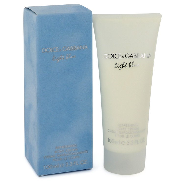 Light Blue by Dolce & Gabbana for Women Body Cream 3.3 oz
