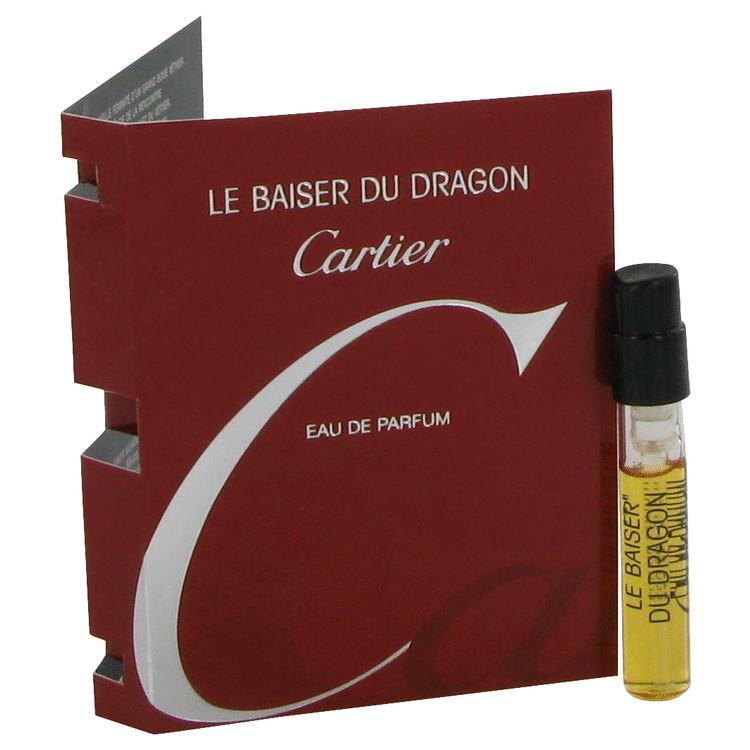 Le Baiser Du Dragon by Cartier for Women Vial (sample) .05 oz