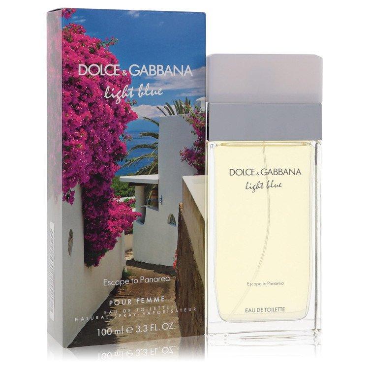 Light Blue Escape To Panarea by Dolce & Gabbana – Eau De Toilette Spray 3.4 oz (100 ml) for Women