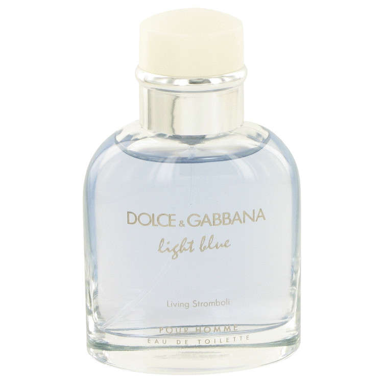 Dolce & Gabbana Light Blue Living Stromboli Cologne 2.5 oz EDT Spray (unboxed) for Men