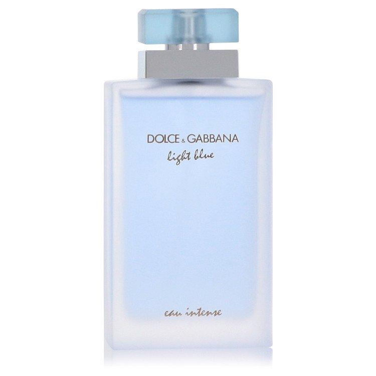 Light Blue Eau Intense by Dolce & Gabbana Women's Eau De Parfum Spray (unboxed) 3.3 oz