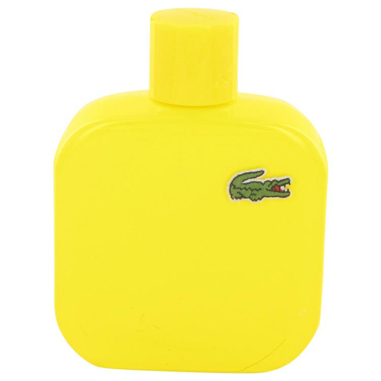 Lacoste Eau De Lacoste L.12.12 Jaune Cologne 3.4 oz EDT Spray (unboxed) for Men