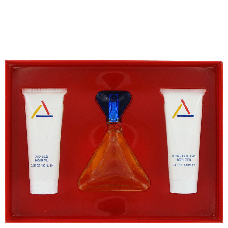 Claiborne Gift Set -- Gift Set - 3.4 oz Eau De Toilette Spray + 3.4 oz Body Lotion + 3.4 oz A/Gel for Women