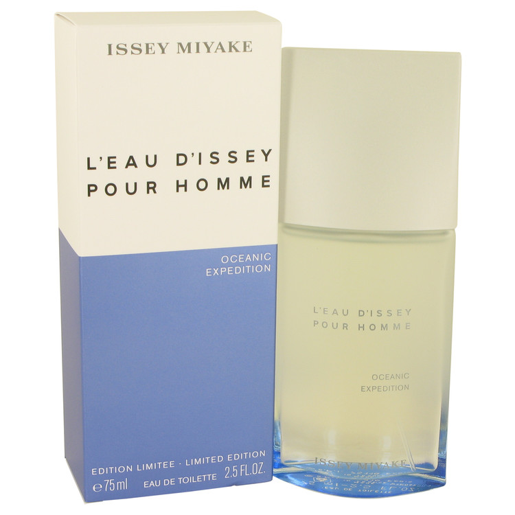 L'eau D'issey Pour Homme Oceanic Expedition Cologne 75 ml EDT Spay for Men