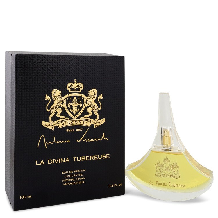La Divina Tuberose Perfume 100 ml Eau De Parfum Spray (Unisex) for Women
