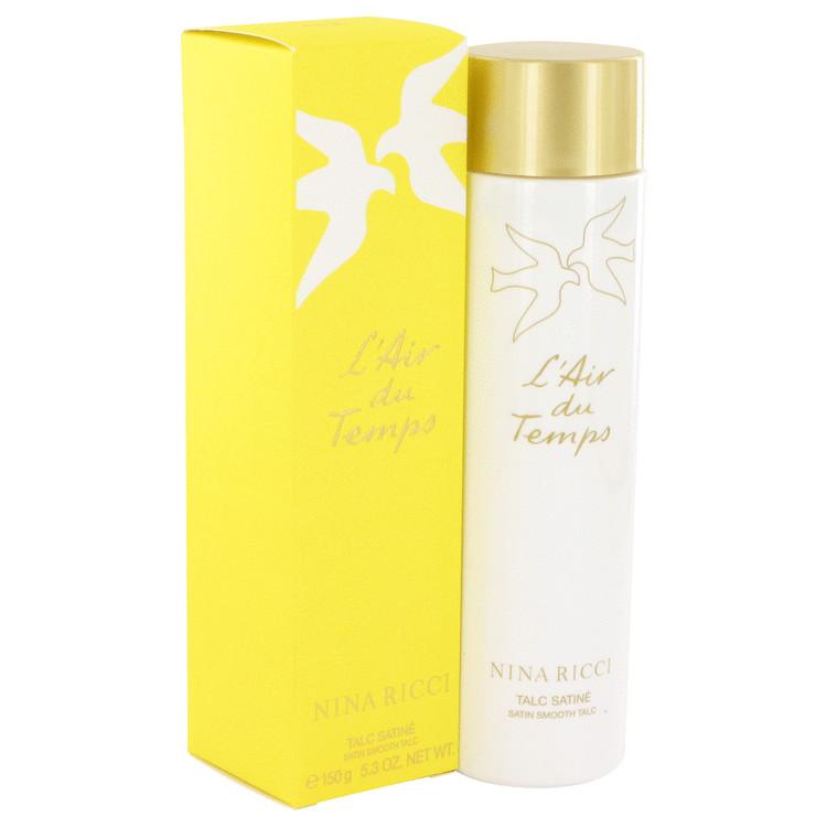 L'air Du Temps Talc by Nina Ricci 5.2 oz Satin Smooth Talc for Women