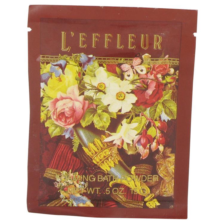 L'EFFLEUR by Coty for Women Foaming Bath Powder .5 oz