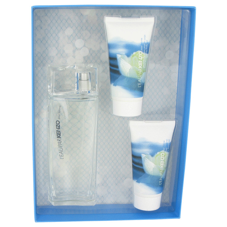 L'eau Par Kenzo Gift Set -- Gift Set - 3.4 oz Eau De Toilette Spray + 1.7 oz Body Gel + 1.7 oz Shower Gel for Women