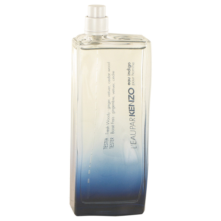 L'eau Par Kenzo Eau Indigo Cologne 100 ml EDT Spray(Tester) for Men
