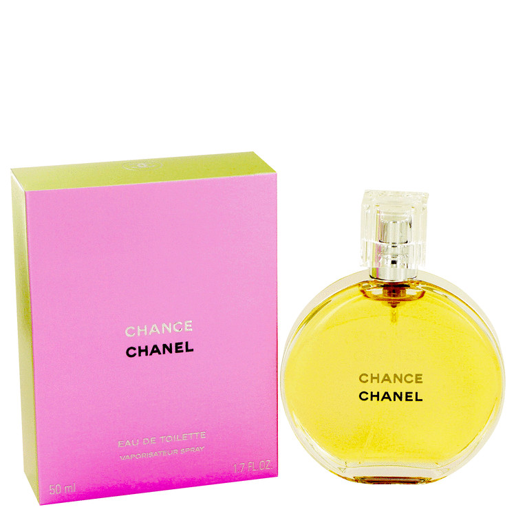 Chance Perfume by Chanel 1.7 oz EDT Spray for Women